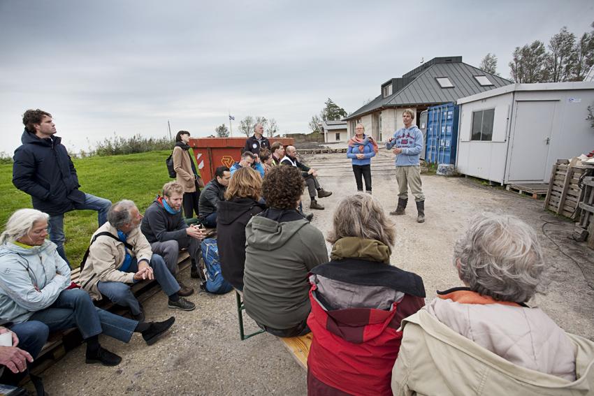 Een energieneutraal kalkhennephuis in aanbouw, COPYRIGHT Branko de Lang