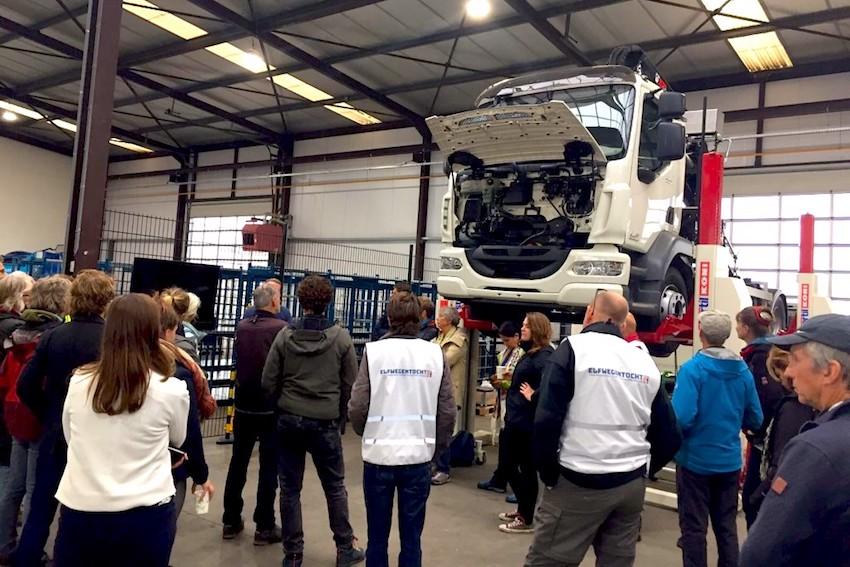 Wierda Hybrid maakt hybride vrachtwagens, met bv elektrische betonmolen