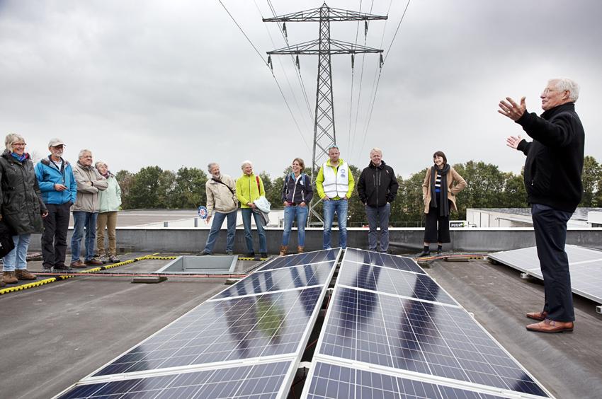 Home Center Wolvega heeft 15.000 panelen op het dak, COPYRIGHT Branko de Lang