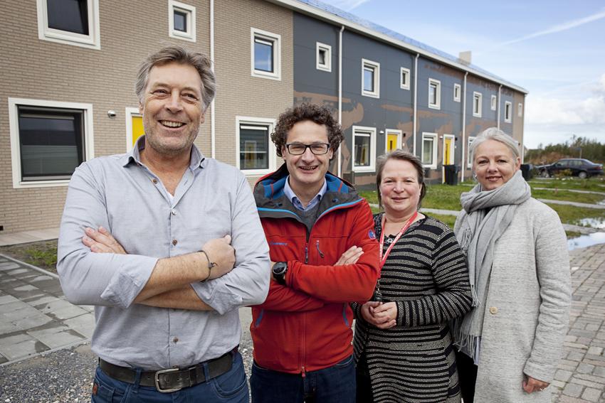 Op bezoek bij de energieneutrale huurwoningen van Elkien, COPYRIGHT Branko de Lang