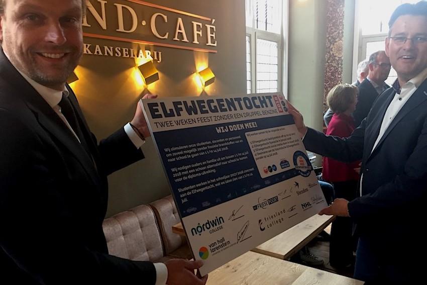 Zes scholen tekenen voor deelname aan de Elfwegentocht