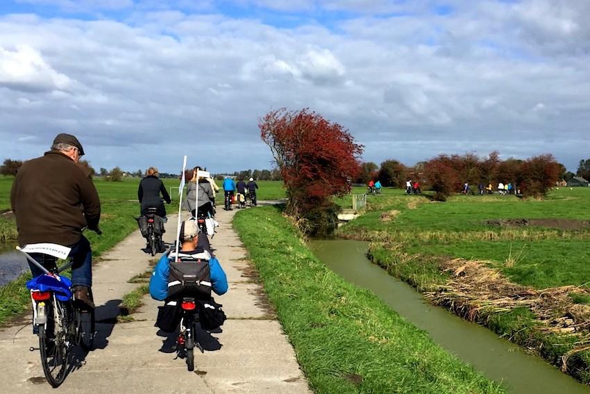Fietsen door de prachtige Friese polders