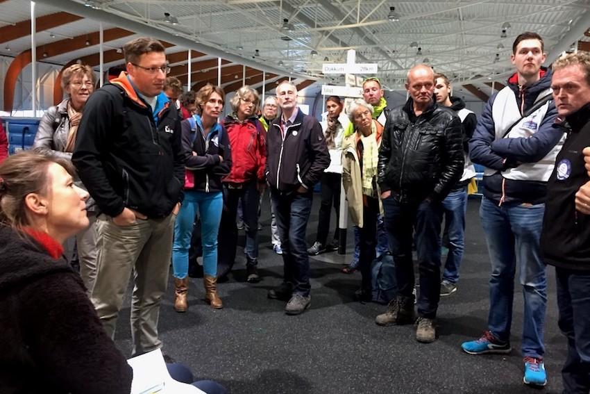 Op bezoek in de energieneutrale Elfstedenhal in Leeuwarden