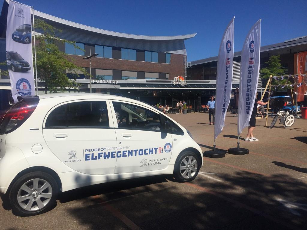 Peugeot iOn bij Openingsfeest op 1 juli in Heerenveen